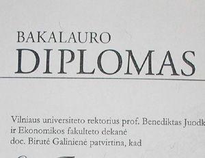 Kaip patvirtinti lietuvišką studijų baigimo diplomą?