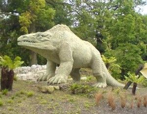 Crystal Palace parkas, kuriame gyvena dinozaurai