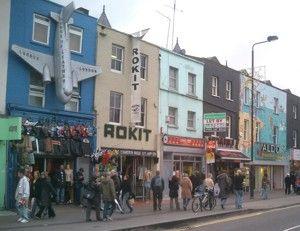 Camdenas - vieta, kur renkasi ne vien tik pankai