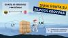Siuntos kroviniai - pervežimai Lietuva - Anglija - Lietuva