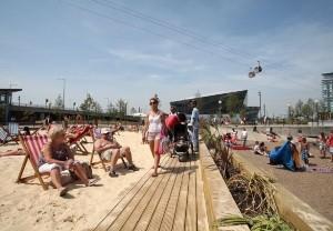 Paplūdimiai Londone – vasariškam poilsiui neišvykus iš miesto