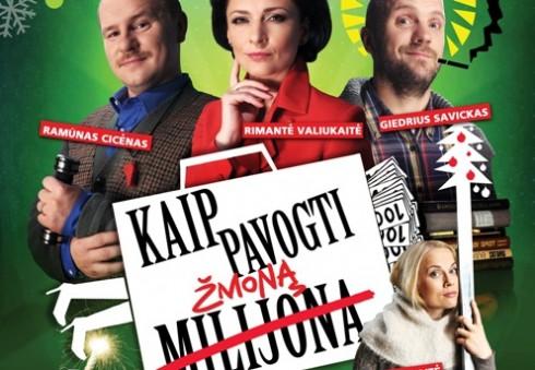 """Juoko porcija Londono lietuviams - komedijos """"Kaip pavogti žmoną"""" premjera jau šį penktadienį!"""