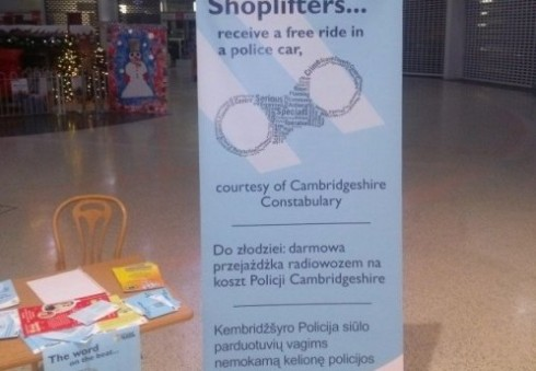 Požiūrį į lietuvius Anglijoje atskleidžia policijos plakatas
