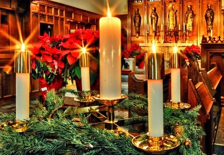 Šv. Kazimiero bažnyčios kalėdinių ir naujametinių pamaldų tvarkaraštis