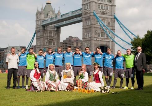 Anglijos aukščiausia salės futbolo lyga: lietuviai vejasi lyderius!