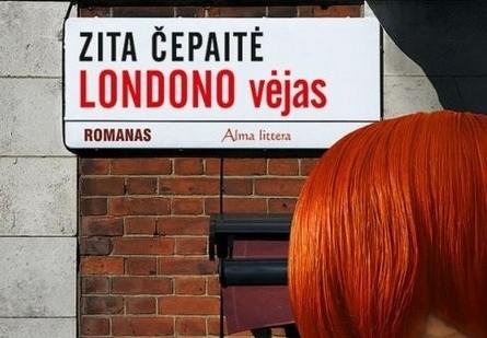 """Kviečiame į Z.Čepaitės romano """"Londono vėjas"""" pristatymą"""