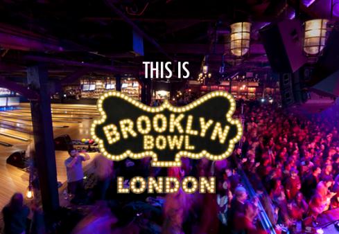 """Boulingo ir muzikos fanams Londone duris atvėrė kėglinė """"Brooklyn Bowl"""""""