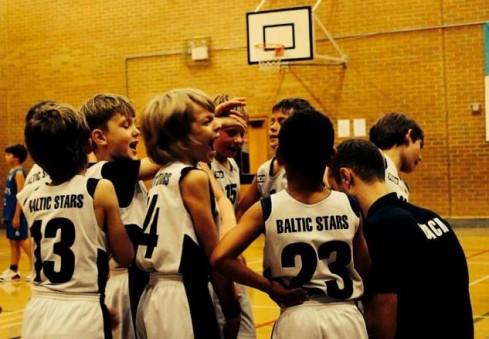 """Londone veikianti vaikų krepšinio mokykla """"Baltic Stars"""" kviečia treniruotis!"""