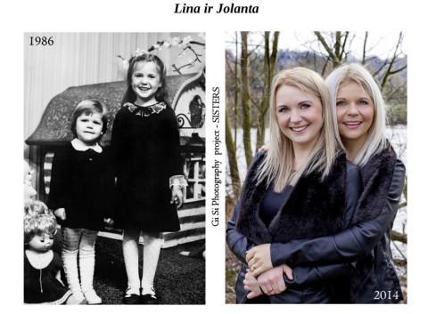 Unikalus Londono lietuvės fotografės projektas suvienijo emigrantes seseris [foto]