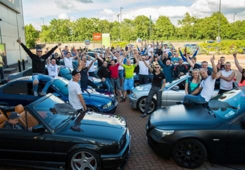 BMW mėgstantys lietuviai susirinko Londone [foto, video]
