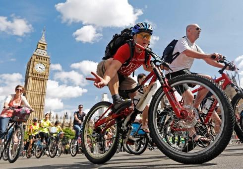 """Savaitgalį Londone – velomaratonas """"Prudential RideLondon"""""""