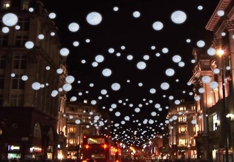 """Londono """"Oxford Street"""" kviečia į kalėdinių šviesų uždegimo šventę"""