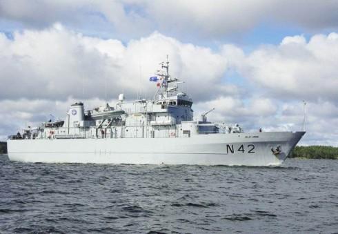 Unikali galimybė apsilankyti Lietuvos kariniame laive Londone