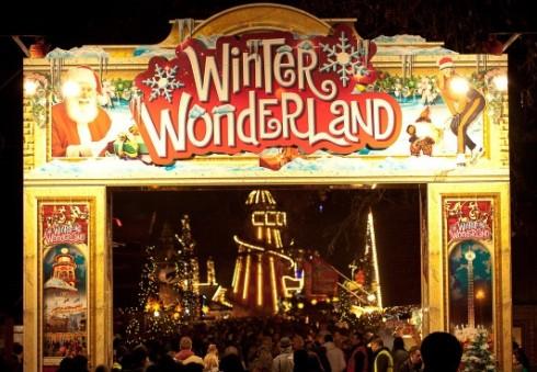 """Londono """"Hyde"""" parkas kviečia į kasmetinę žiemos mugę """"Winter Wonderland"""""""