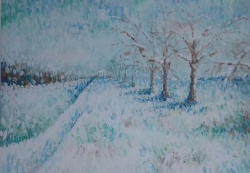 """Dagenhame - lietuvės tapybos darbų paroda """"Atvirumas"""""""