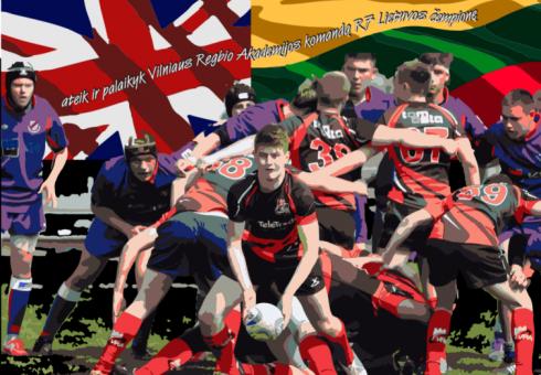 Anglijoje turnyre dalyvausiantiems Lietuvos regbininkams reikia tautiečių palaikymo