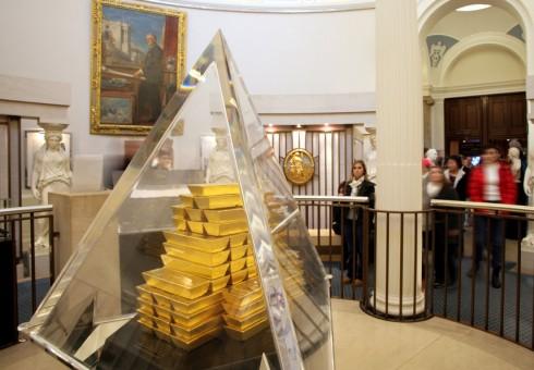 Anglijos banko muziejuje – viskas apie pinigus ir auksą