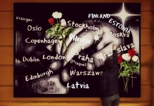 Prie Norvegijos ambasados Londone – akcija atimtiems vaikams paminėti