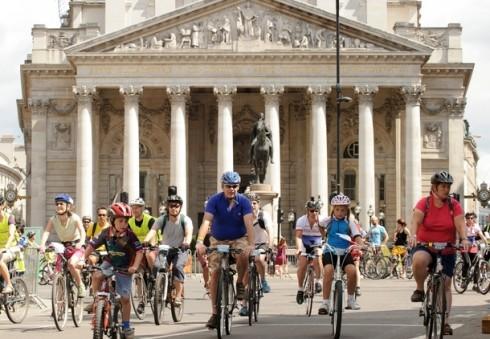 Aplink Londoną su dviračiu!