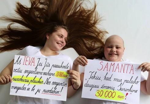 Padėkime onkologinėmis ligomis sergantiems vaikams!