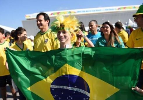 Į  Trafalgaro aikštę atsikelia Brazilija