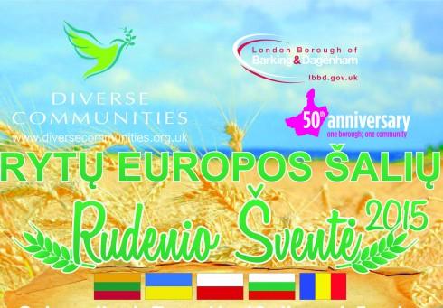 Lietuviai kviečiami į Rytų Europos tautų Rudenėlio šventę