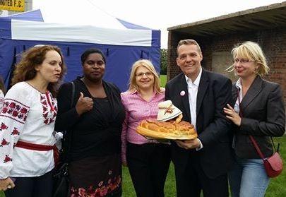 """Eastern European Harvest Festival"" londoniečiams pristatė lietuviškas tradicijas"