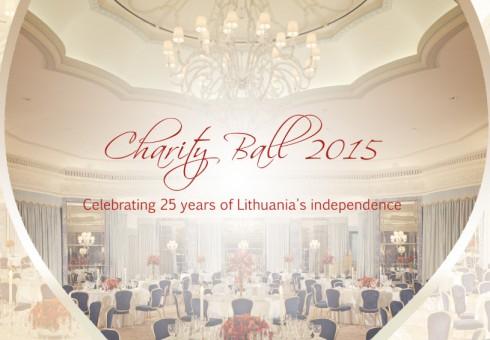 """Tautiečiai kviečiami į labdaros pokylį """"Charity Ball 2015"""""""