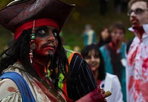 Londone zombiai išeis į gatves, kad pasiektų pasaulio rekordą