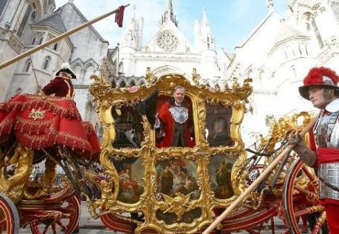 """Monarchinė šventė """"Lord Mayor's Show"""" Londoną grąžins į karalių laikus"""