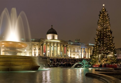 Trafalgaro aikštėje skambės kalėdinės giesmės