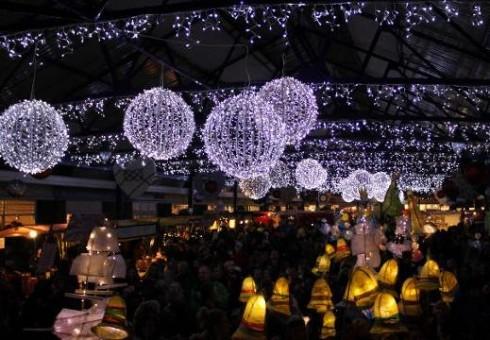 Istorinis Greenwicho turgus kviečia ruoštis Kalėdoms