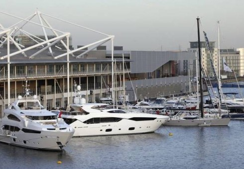 """Londone – vandens transporto paroda """"London Boat Show"""""""