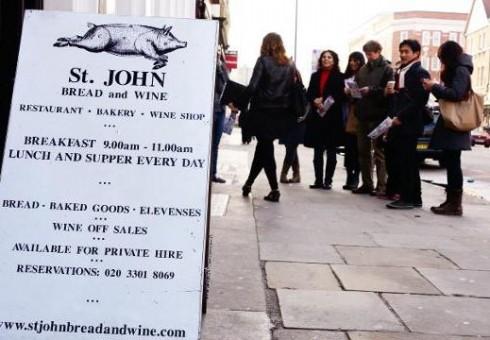 Atraskite Londoną per maistą!