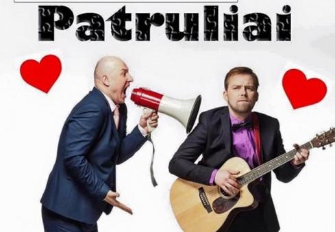"""Valentino dieną Londone švęskite su grupe """"Patruliai"""""""