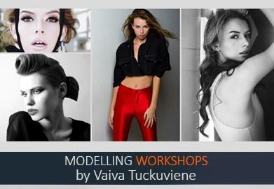 Vaivos Tučkuvienės modelių seminaras ir atranka Londone