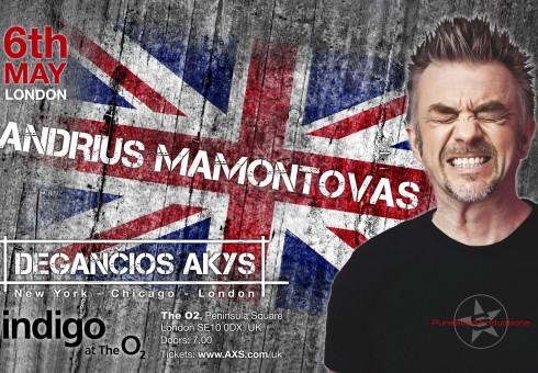 A. Mamontovas Anglijos lietuviams parengė ypač aukšto lygio koncertą
