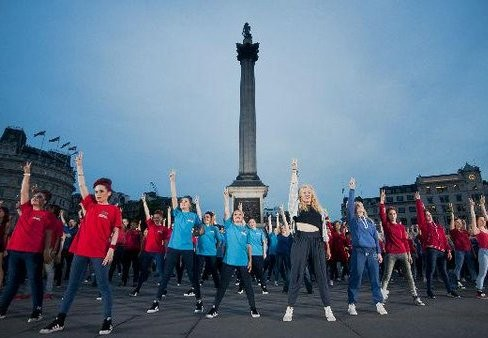 Trafalgaro aikštėje – didysis šokių festivalis