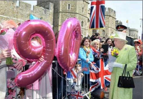 Dalyvaukite karalienės 90-ojo gimtadienio šventėje