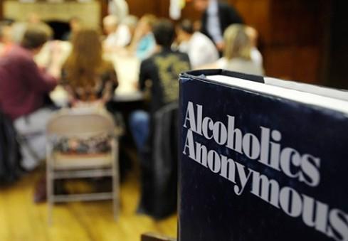 Londone – atviras anoniminių alkoholikų susirinkimas
