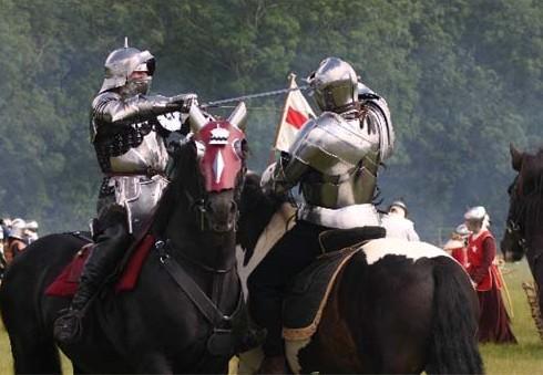 Šalia Londono vyks viduramžių riterių kovos