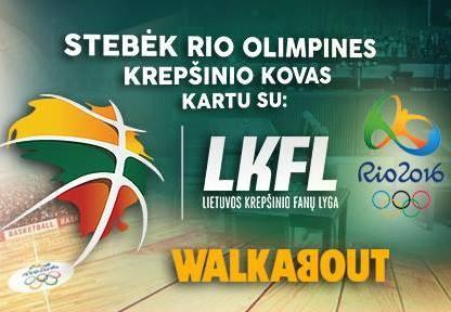 Stebėkite olimpinį krepšinį Londone: Lietuva – Brazilija