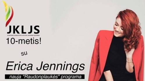 Anglijos lietuviai kviečiami į JKLJS 10 metų jubiliejų su Erica Jennings
