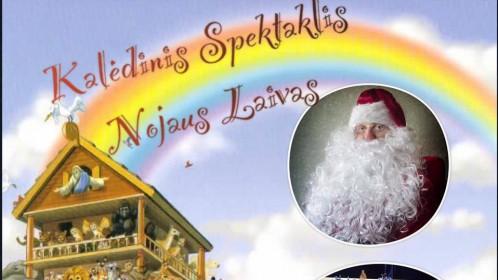 """Tautiečiai Londone kviečiami į lietuvišką kalėdinį spektaklį """"Nojaus laivas"""""""