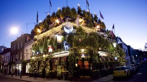 Aplankykite kalėdiškiausią Londono vietą
