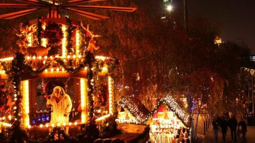 Tate Modern kalėdinis turgus kviečia jungtis prie šventinio šurmulio!