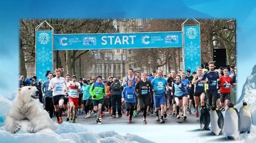 Dalyvaukite žiemos maratone ir paremkite vėžio tyrimus JK