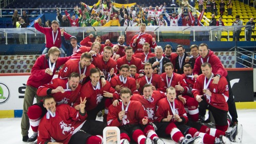 Palaikykite Lietuvos vyrų ledo ritulio komandą Belfaste vyksiančiame čempionate