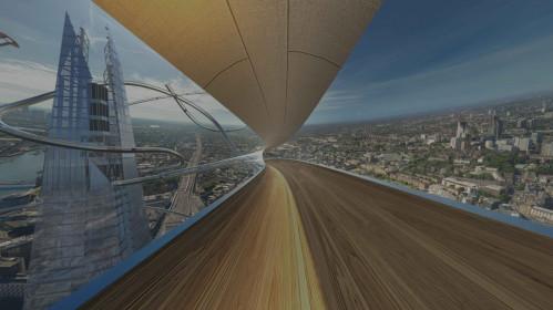 Patirk svaiginantį aukštį su virtualia realybe Londone