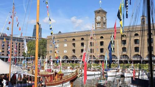 Laivų festivalis Londone